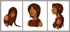 Katniss Studies Take 3 by Ratgirlstudios