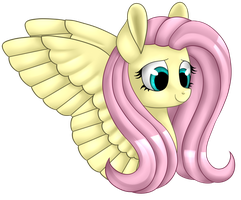 [MLP] Fluttershy (collab with Pralina157) by AmberPone
