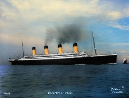 Memorable Magnificence by RMS-OLYMPIC