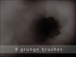 Grunge Brushes by Talei-stock