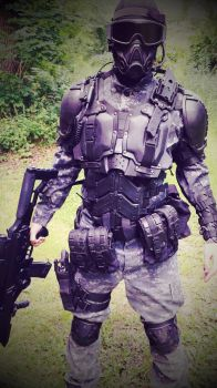 S.P.A.R.C armor new! by Sharpener