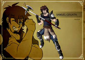 LS: Samuel Goliath - The Fighter by AllegroAlley