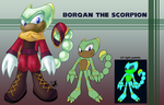 Commission: Borqan the Scorpion by Jammerlee