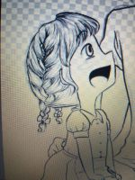 baby evie with french braids by MeowMix72