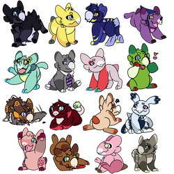 Gift batch #1 by whirlawind
