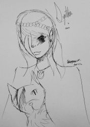 updated sketch of synthia and sam by AlwaysSmileForever