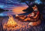 Evening Warmth by GoldenDruid