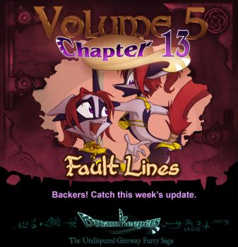 Volume 5 page 20 Update Announcement by Dreamkeepers