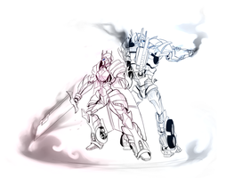 Rixia and Optimus by Potentissimum