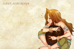Cana Alberona Wallpaper by EnvitChan