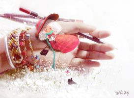 My hand and my pencil by nguyenshishi