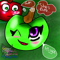 The Apple of love by AngelCnderDream14