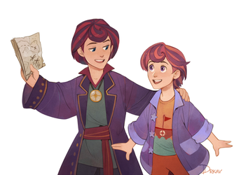 Henry and Hans by Drkav