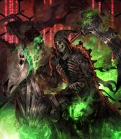 Pale Horse(Death) Happy Halloween by Sgt-lonely