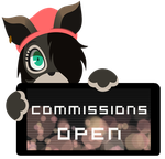 PC - Seadog Commissions Open Stamp by BlueBismuth