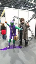 Green goblin and doc ock lscc cosplay by ramtopsman
