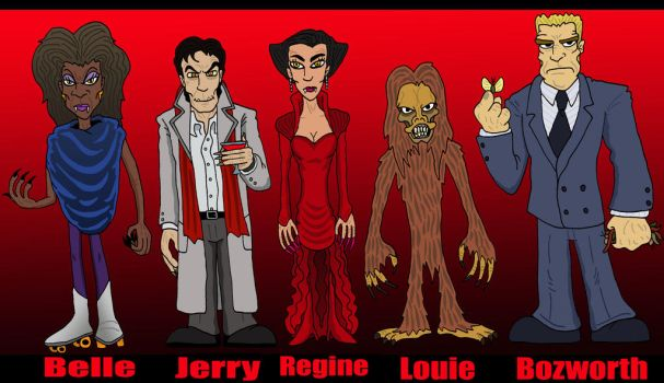 Fright Night Franchise by Lordwormm