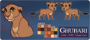 Ghubari - Character Reference - 2016+ by Solarmyr