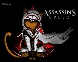 Assassin Kitty coloring by Talons013