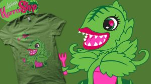 Littlest Horror Shop t-shirt design by Nox-dl