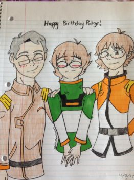 Happy Birthday Pidge! by Anime7Otaku7Artist7
