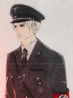 APH: Infamous black uniform by xiaoyugaara