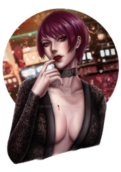 Commission: Eltheran's OC - Raven by VexingYA