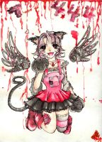 444th for DeadKid ::Watercolor by Wingedbunny