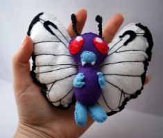 Rare Butterfree plush for sale by Ljtigerlily
