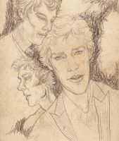 Benedict Sketch Collage by figgs-the-pirate