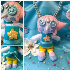 Pearl Plushie Rag Doll by ColorfulCupcakez