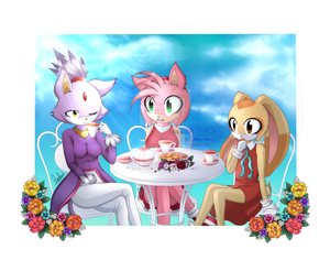 .:Gift:. Perfect Day :+Speedpaint: by Angelfeather13