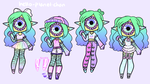 Outfit set - lana by hello-planet-chan