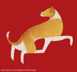 Year of the Dog - Smooth Collie by Kelgrid