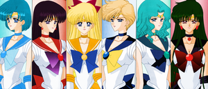 Sailor Senshi by Air-Hammer