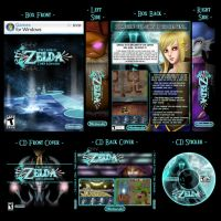 Zelda TM - Box and CD Display by UndyingNephalim