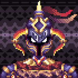 12th Pixel Art - Dragon Knight by TrepkSoto