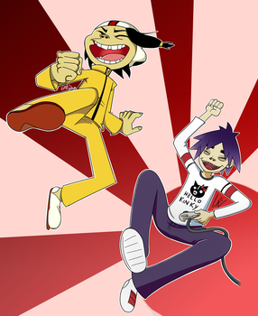 Game of Death COLLAB by kuki4982