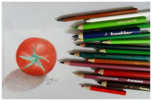 Tomato by steel--blue