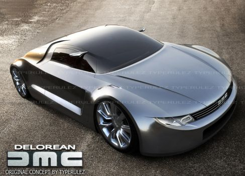 dmc delorean concept by typerulez