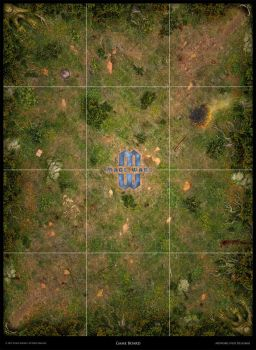 Mage Wars - Arena game board: Forest theme by Deligaris