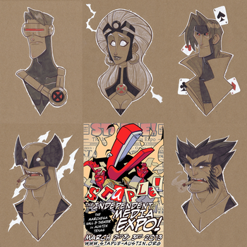 Staple Preview: X-Men by GhostHause