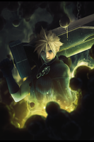 Cloud Strife by StrengXD
