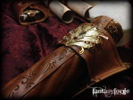 LARP EQUIP: Mage belt accessories IV by FantasyForgeLARP