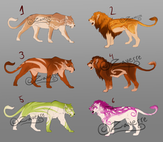 Lion adopts [4/6 open] by Zaverre