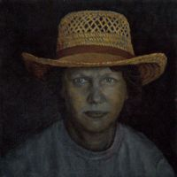 Woman in hat by Bill Root by ericdalrymple