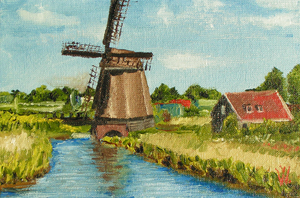 Holland mill #2 by methosw