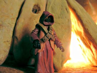 Jawa in trouble by evis42
