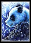 Giant Panda  Earth Hour Fundraiser  update: SOLD by KatCardy