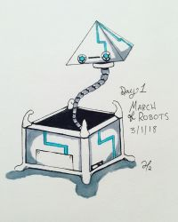 March of Robots: Day 1 by Wolfpack112